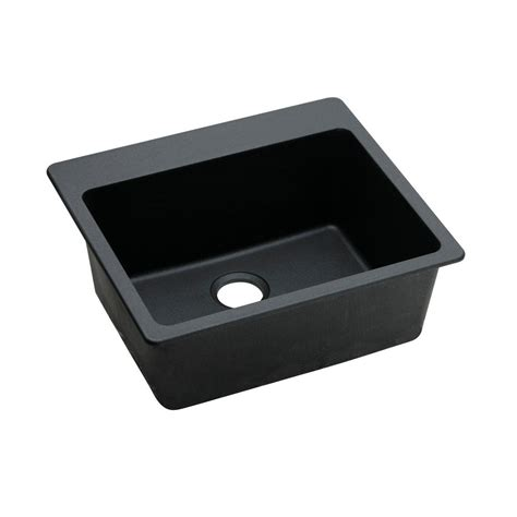 Elkay Elkay By Schock Dual Mount Quartz Composite 23 In Schock Kitchen Sink