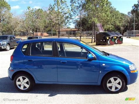 Bright Ls by 2007 Bright Blue Chevrolet Aveo 5 Ls Hatchback 25676128