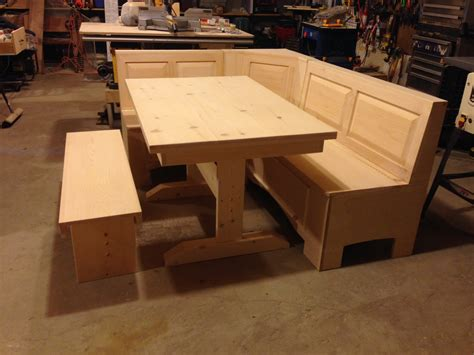 nook bench table corner bench trestle table pictures