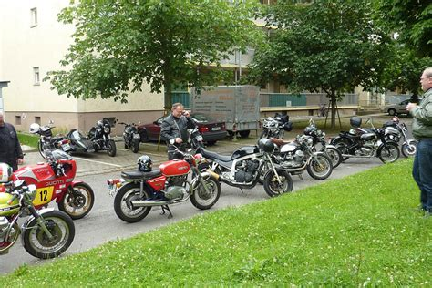 Yamaha Motorrad Singen by Classic Bikes Bodensee Classic Cafe Rallye 2013