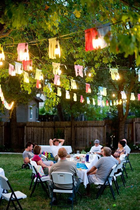 how to decorate backyard for birthday party some creative outdoor party games home party ideas