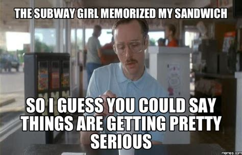Subway Sandwich Meme - image gallery subway meme