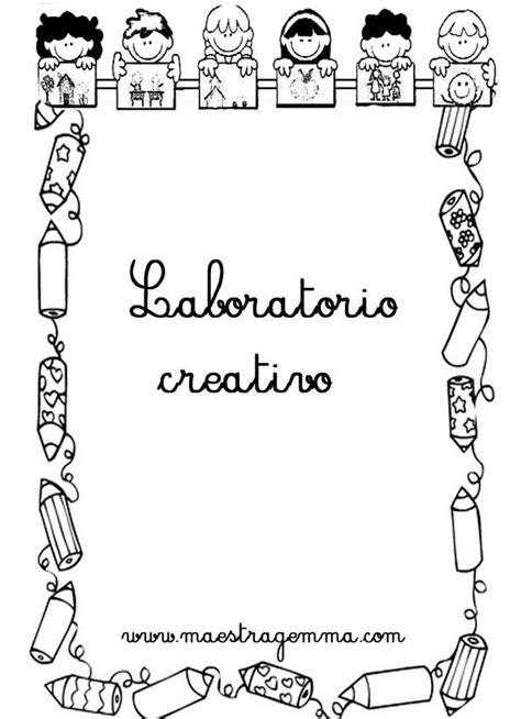 cornici per quaderni scuola primaria cornicette copertine copertine scuola