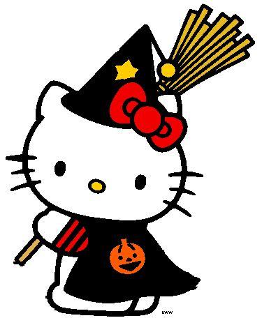 imagenes hello kitty halloween hello kitty halloween witch hello kitty pinterest