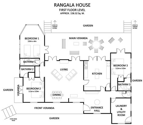 floor plan guide rangala house a villa in kandy region hill country sri lanka floorplans instead of staying