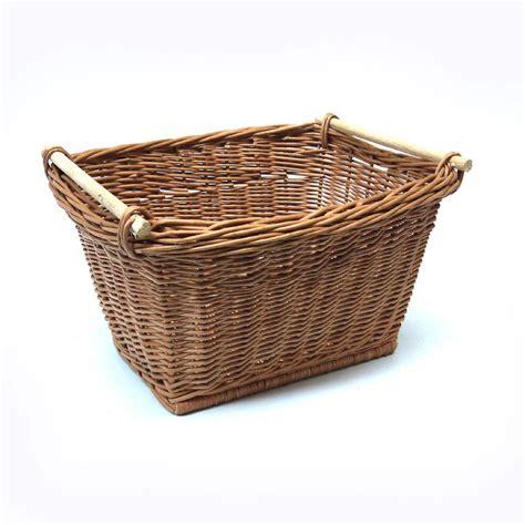 kitchen baskets large wicker kitchen storage basket by prestige wicker