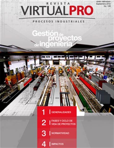 revista virtualpro login revista virtual pro gesti 243 n de proyectos de ingenier 237 a