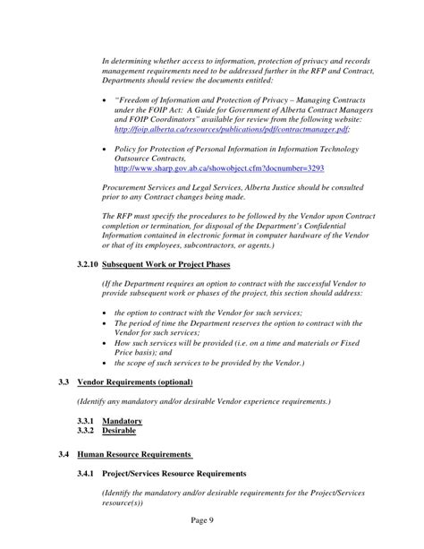time and materials contract template general services time and materials rfp template