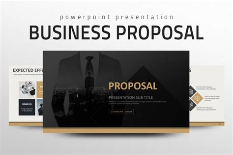powerpoint proposal template game plan powerpoint