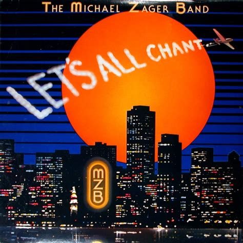 Electronic Desk The Michael Zager Band Let S All Chant At Discogs