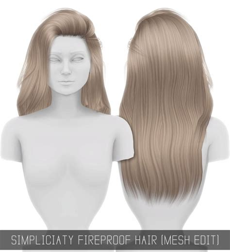 simplicity hair cc sims 4 sims 4 simplicity pictures to pin on pinterest pinsdaddy