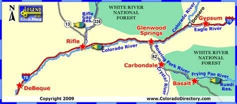 maps colorado river fishing map middle colorado river fishing map colorado vacation