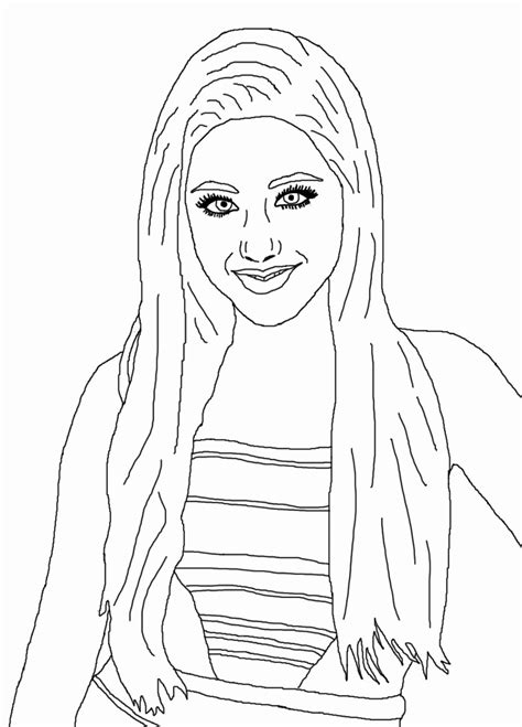 chelsea s digital art blog celebrity coloring book page