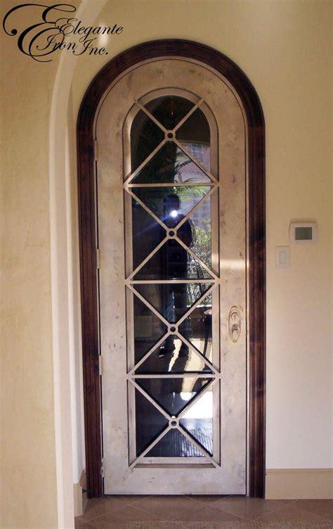 Wrought Iron Interior Doors Custom Wrought Iron Door Single Doors Pinterest