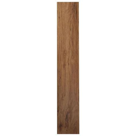tivoli ii medium oak   adhesive vinyl floor plank