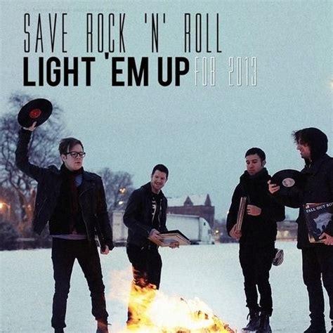 light em up remix single fall out boy