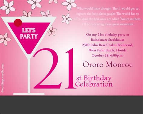 21 birthday invitation templates 21st birthday invitations invitation ideas