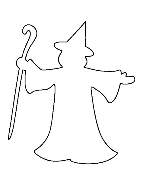 Wizard Hat Outline by Wizard Outline Pictures To Pin On Pinsdaddy