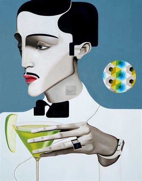 martini artist contemporary martini