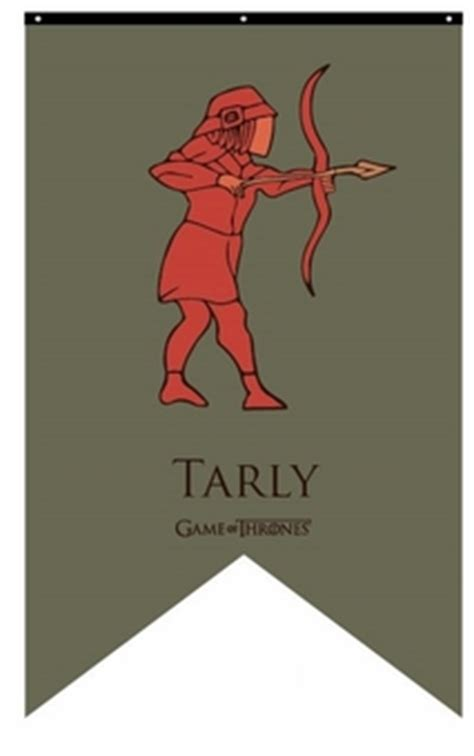 house tarly house tarly banner flags banners game of thrones gifts collectibles tv shows