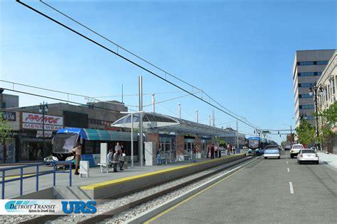 Detroit Light Rail by Plans Moving Forward For Light Rail System In Detroit