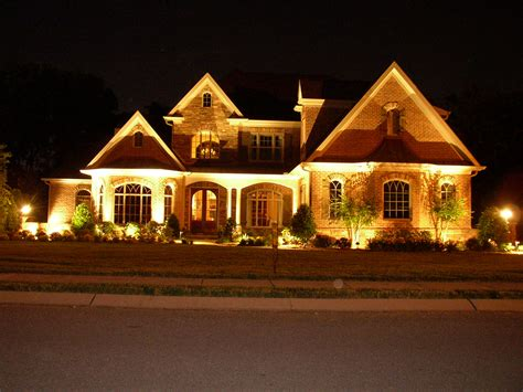 design house exterior lighting lighting design electrician