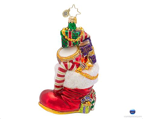 1016582 christopher radko gifts to boot christmas ornament