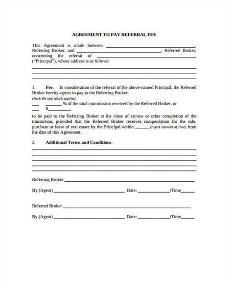 commission contract template commission agreement