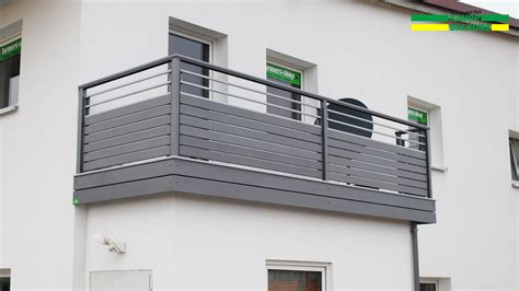 balkongeländer verzinkt gel 228 nder balkon alubalkon balkongel 195 nder aus aluminium