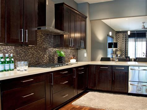 Espresso Kitchen Cabinets: Pictures, Ideas & Tips From