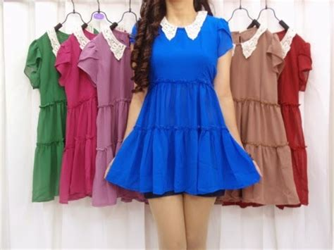 Grosir Seri Dress Import 037 grosir baju import korea tanah abang pasar grosir tanah