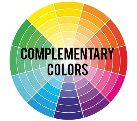 what colors compliment complementary colors rc willey