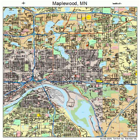 Home Choice Maplewood by Maplewood Minnesota Map 2740382