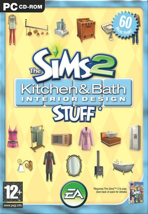 les sims 2 kit cuisine et salle de bain design sur pc