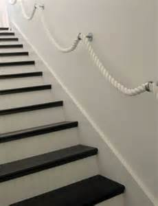 Rope Banisters 30 stylish staircase handrail ideas to get inspired digsdigs