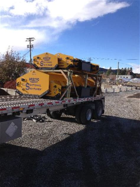 Sectional Snow Plow by Authorized Distributor For Arctic Sectional Snow Plow Bc