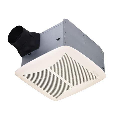 quietest bathroom exhaust fan nutone qt series 110 cfm ceiling exhaust bath