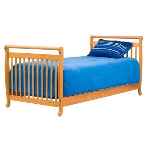 Davinci Mini Crib Emily Davinci Emily Mini 2 In 1 Convertible Wood Baby Crib In Honey Oak M4798o