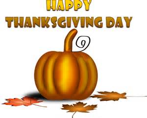 happy thanksgiving clipart happy thanksgiving day with pumpkin clip art at clker com