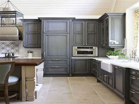 Antique Grey Kitchen Cabinets | antique grey kitchen cabinets gallery including picture of