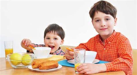 alimentacion saludable  ninos en edad escolar buena