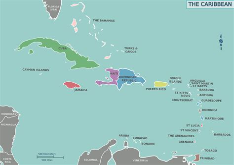 map of the carribean file map of the caribbean png wikimedia commons