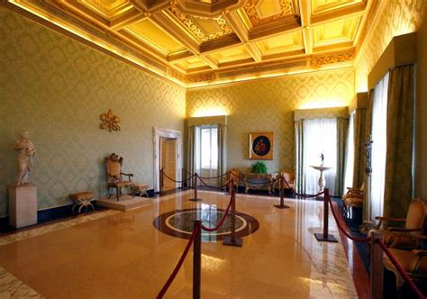 pope francis bedroom inside the papal summer residence rediff com india news