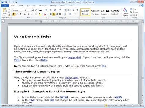 Microsoft Word Doc File Format | help file formats html help chm web help adobe pdf epub