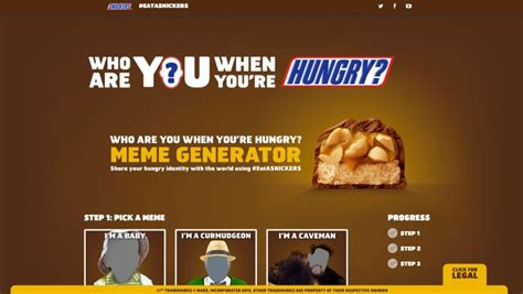 Snickers Commercial Meme - snickers asks people to share who they are when they re