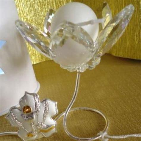 simbolo fiore fiore portacandela con simbolo in argento bomboniera
