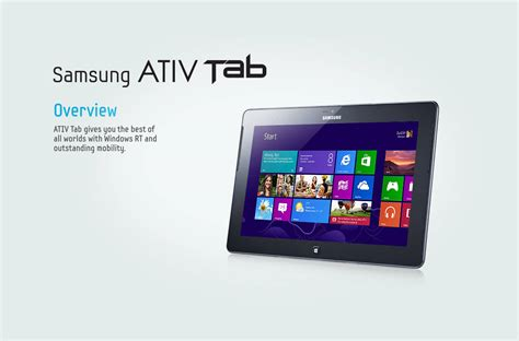 Samsung Tab Os Windows samsung ativ tab windows 8 tablet pc review xcitefun net