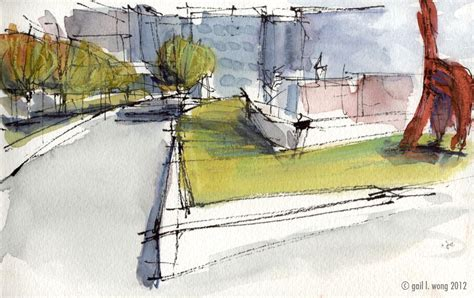 sketchbook park glwsketchworks second sketch at olympic sculpture park