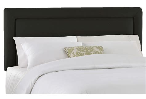 Collins Upholstered Headboard Black From One Kings Lane