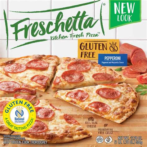 freschetta 174 gluten free thin crispy signature pepperoni pizza